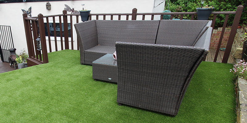 Artificial Grass Home and Gardens - Polished Artificial Grass